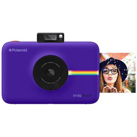 polaroid purple polaroid snap touch instant digital purple