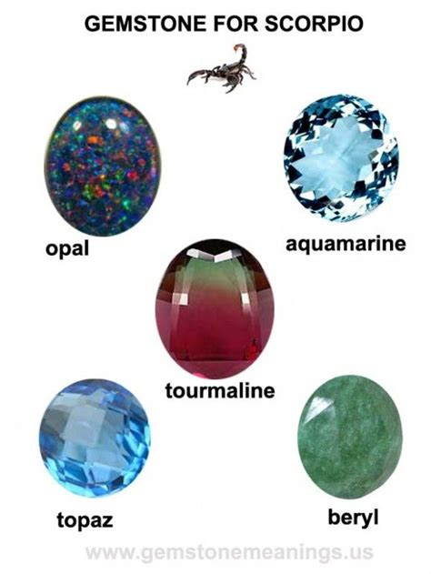 scorpio birthstone color the gemstone for scorpio topaz is the birthstone for