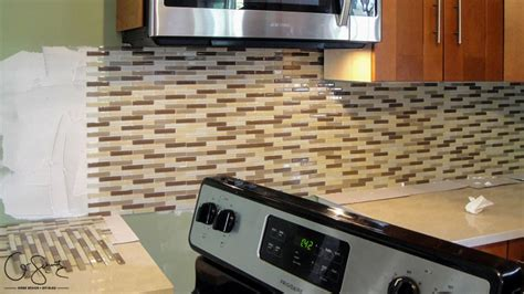 Tiling A Kitchen Backsplash Do It Yourself Tiling The Kitchen Backsplash Q Schmitz Home Design Diyq Schmitz Home Design Diy