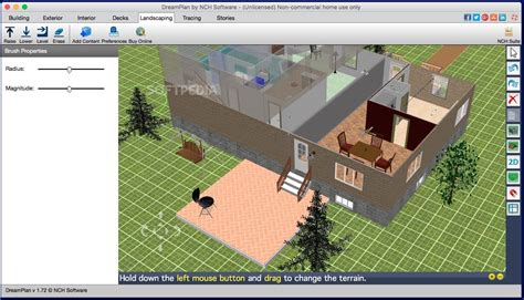 drelan home design landscape planning software screenshots download dreamplan home design and landscape software mac 2 16