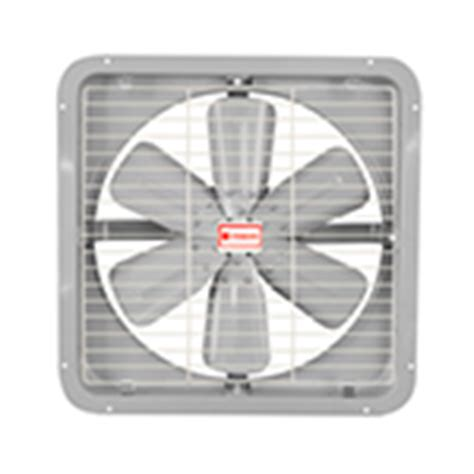 industrial exhaust fan wattage standard appliances