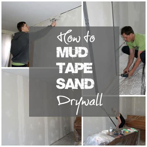 diy drywall mudding and taping best 25 how to finish drywall ideas on