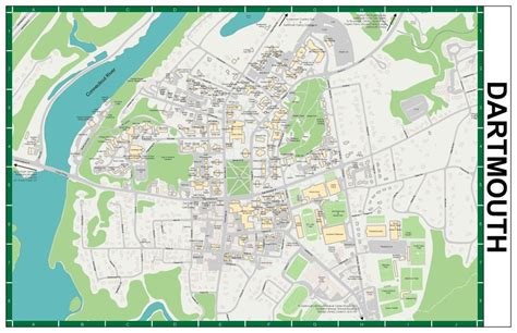 Of Mass Dartmouth Mba by Dartmouth College Cus Map Pictures To Pin On