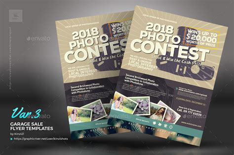 photo contest flyer template photo contest flyer templates by kinzishots graphicriver
