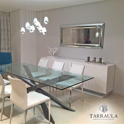 decoracion comedor contemporaneo muebles tarraula mesa