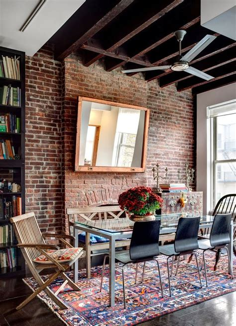 the dining room brooklyn brooklyn loft i n t e r i o r l i v i n g