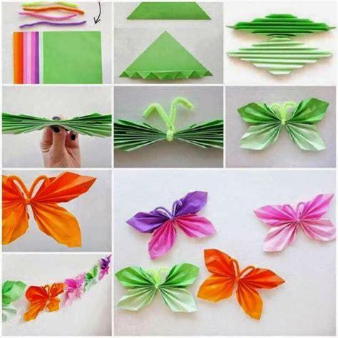 Folded Paper Butterfly Template - kako napraviti origami leptira od papira saznaj lako