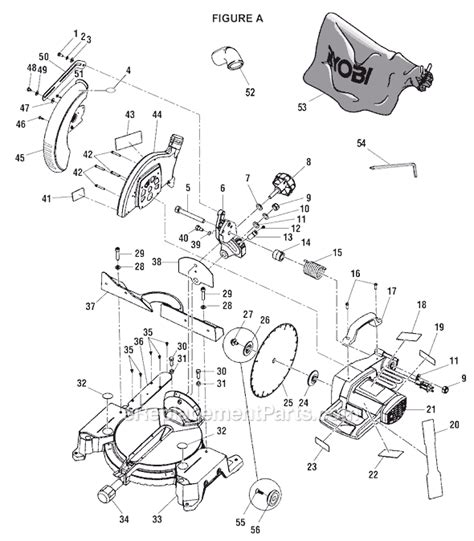Ryobi Ts1352 Parts List And Diagram Ereplacementparts Com