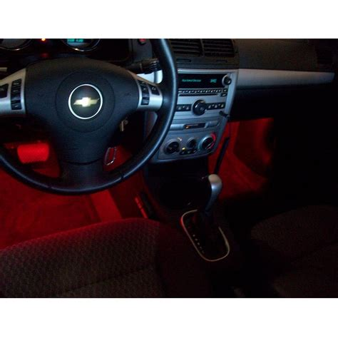 Red Led Light Strips For Car Interior