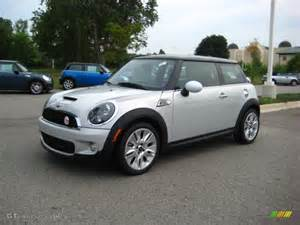 White Silver Metallic Mini Cooper 2010 White Silver Metallic Mini Cooper S Camden 50th