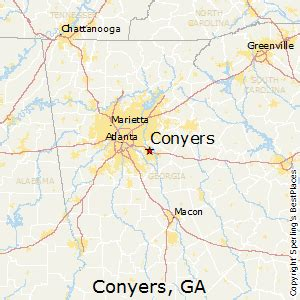 map of conyers best places to live in conyers