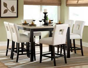 counter height dining room sets archstone counter height dining room set from homelegance