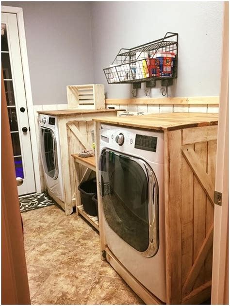 how to decorate your laundry room decorate your laundry room with pallets