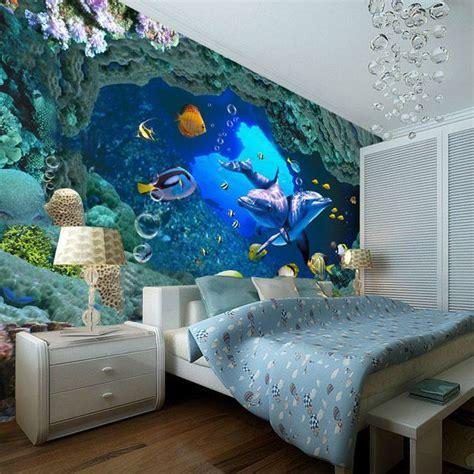 underwater themed bedroom 3d underwater world wallpaper custom wall mural ocean