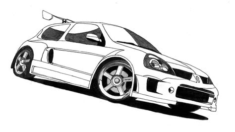 renault clio v6 nfs carbon nfs mostwanted clio v6 gray by samantha dragon on deviantart
