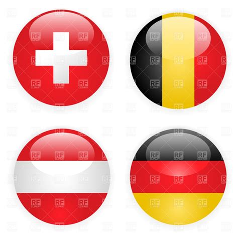 tag how to type at symbol on german germany belgium switzerland and austria button flags