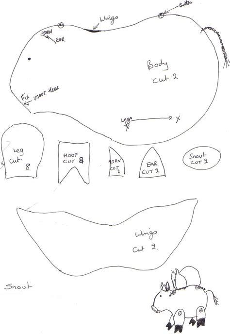 pattern for felt pig guinea pig sewing free felt pattern google zoeken felt