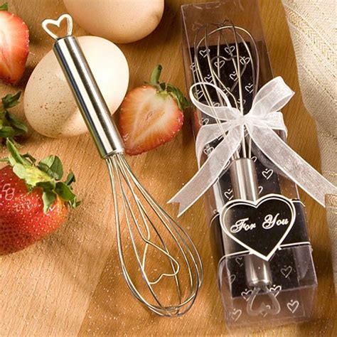 kitchen themed bridal shower favors themed wire whisk favour