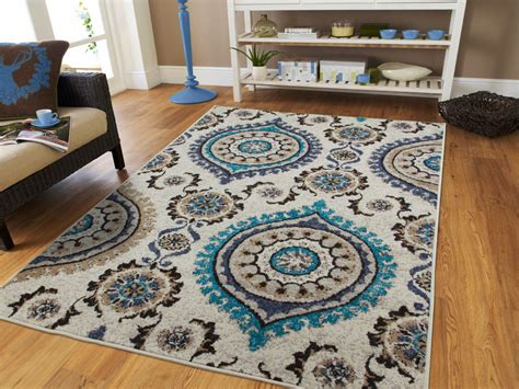 Rug Sets For Living Rooms Luxury Blue Gray Rug Living Room Rugs Carpets 8x10 Blue Rug Set 5x7 Runner Rug 2 Ebay