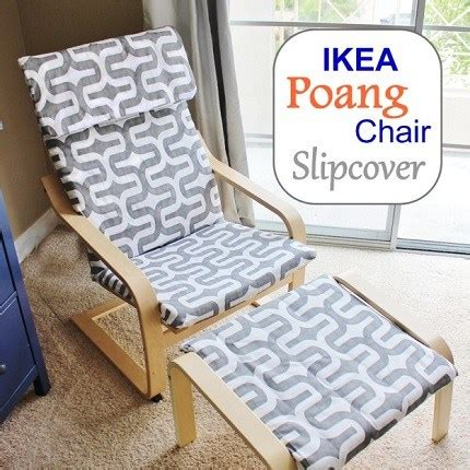 ikea poang chair and ottoman tutorial slipcover for an ikea poang chair and ottoman