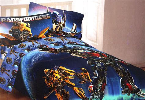 New Transformers Convoy Dark Moon Twin Comforter Optimus Transformers Bedding