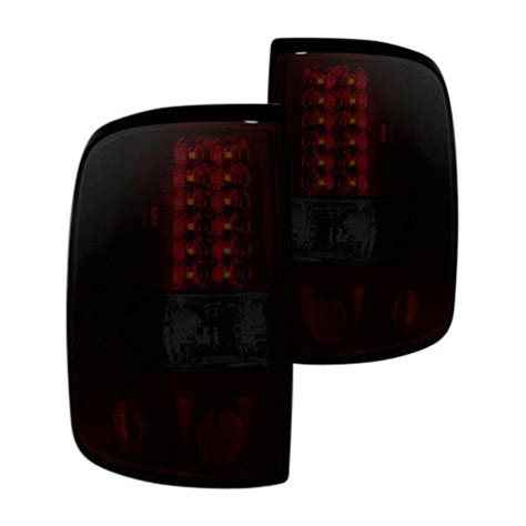2005 f150 tail lights recon 174 264178rbk ford f 150 2005 black red smoke led