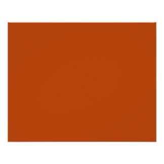deep orange color autumn flyers autumn flyer templates
