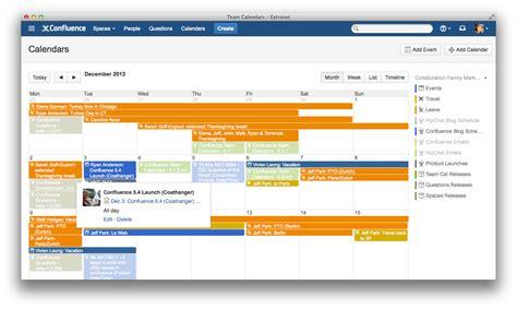 Confluence Calendar Top 10 Confluence Highlights Of 2013 Atlassian Blogs