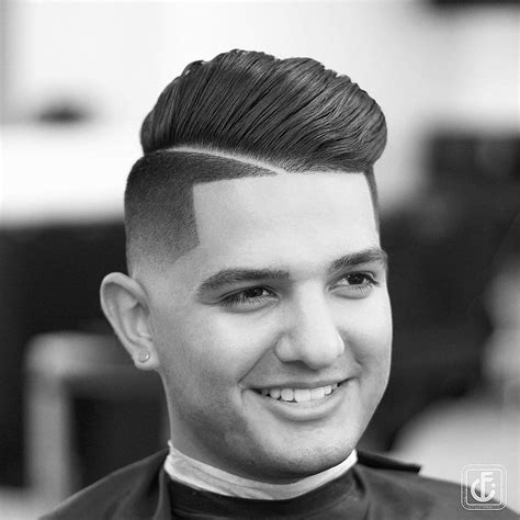 fade combover hairstyles   pompadour mens hairstyles guide