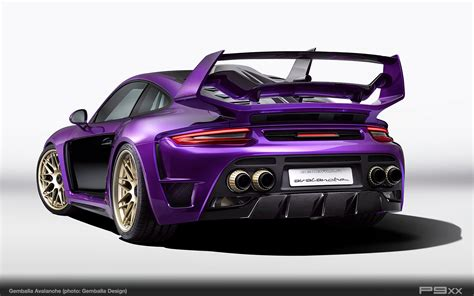 porsche gemballa 911 gemballa avalanche a highly individualized porsche 911 p9xx
