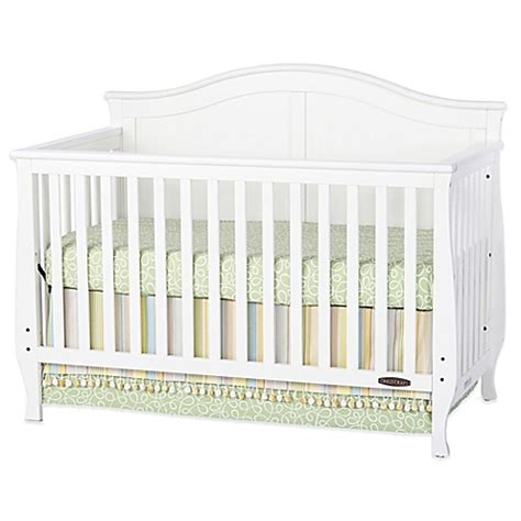 White Convertible Baby Crib Child Craft Camden 4 In 1 Convertible Crib In White Buybuy Baby