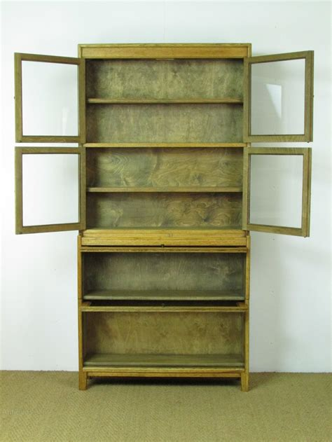 sectional bookcase heal s glazed oak sectional bookcase antiques atlas
