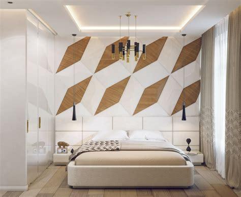 pareti da letto moderna stanza da letto moderna con parete di design speciale