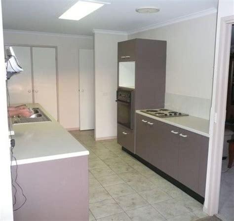 galley kitchen designs brisbane galley kitchen renovation before and after