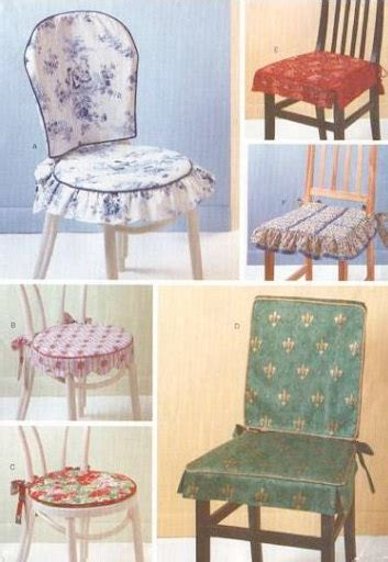 Dining Room Chair Covers Pattern | chair covers pads sewing pattern dining room by patterns4you