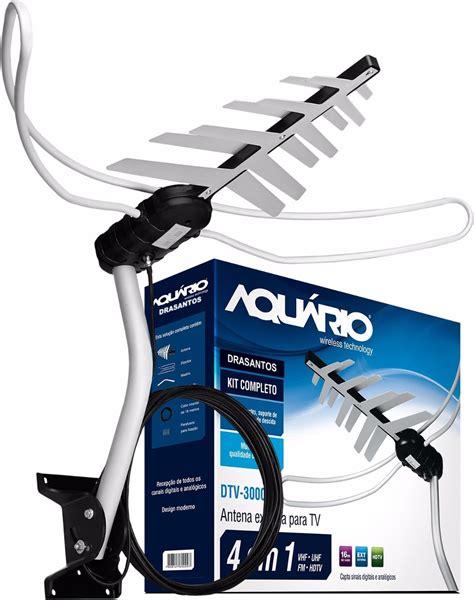Antena Tv Uhf Digital antena dtv 3000 aquario uhf para tv digital externa hdtv r 92 99 em mercado livre