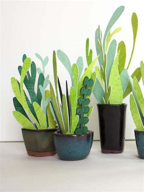 Paper From Plants - diy un cactus en the small issue