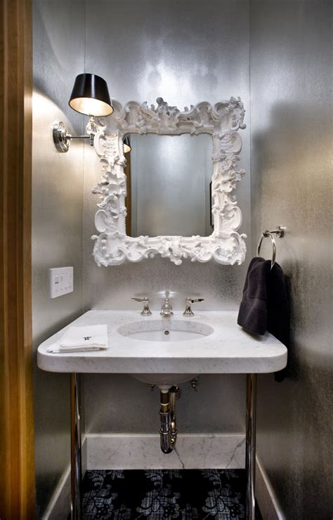 funky mirrors for bathrooms funky mirrors with eclectic san francisco and metal towel bars