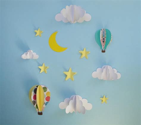 20 top 3d clouds out of paper wall wall ideas