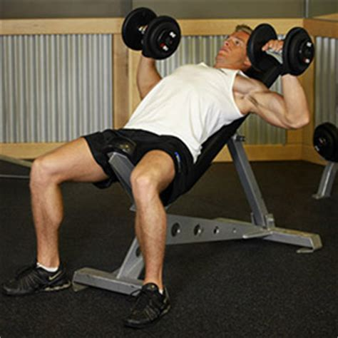 incline db bench press best chest exercises for men