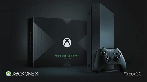 ebay xbox one x scorpio xbox one x project scorpio edition is already selling for