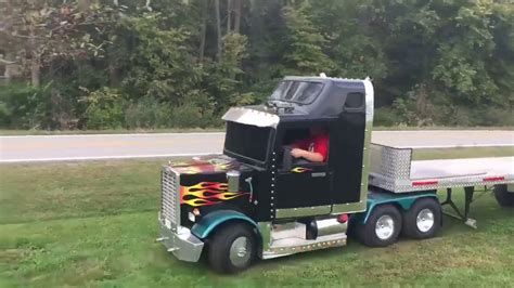 trucks kid kid semi truck