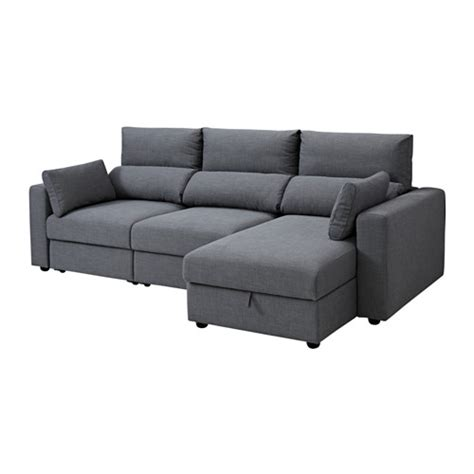 Sofa With Chaise Longue by Eskilstuna 3 Seat Sofa With Chaise Longue