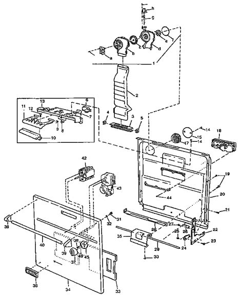 viking range parts diagram door diagram parts list for model vud141 viking range