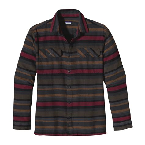 Flannel Shirts For Mens Sht 629 patagonia s sleeved fjord flannel shirt