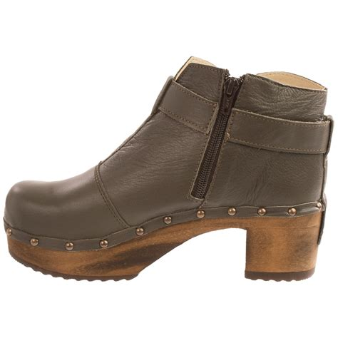 sanita boots sanita wood owl ankle boots for 9573r save 88