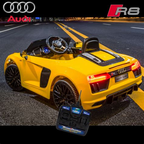 Audi R8 Spyder Electric Car by Ride On Car Audi R8 Spyder 12v Licensed Childs
