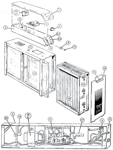 trion ttm max 4 1400 air cleaner parts