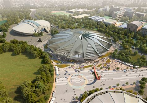 Kalung Korea Shape Simple Design T6abd tornado shaped k pop concert wins competition for seoul s olympic arena renovation archdaily