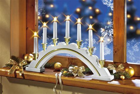 dekoideen weihnachten fenster fenster leuchter lichterbogen wei 223 schwipbogen weihnachten